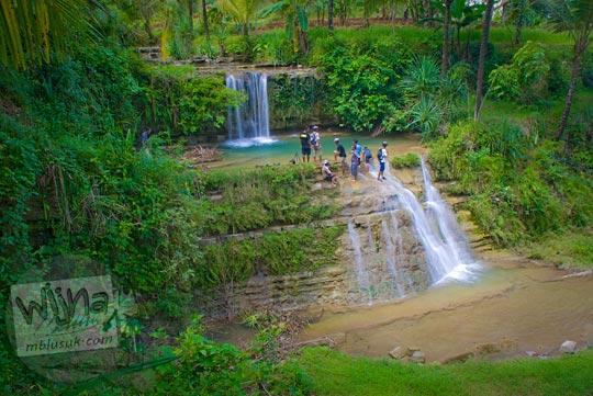 cerita perjalanan kisah wisata curug tanpa nama karangsambung kebumen