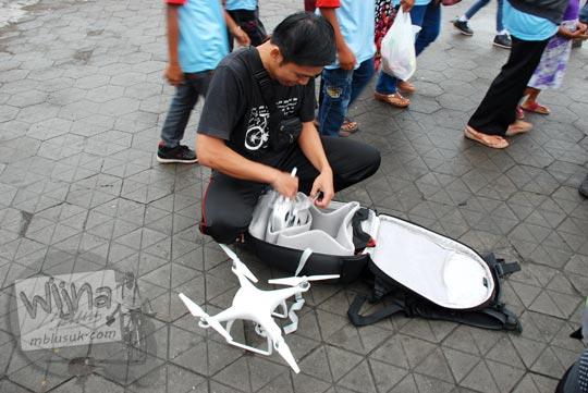 ulasan review tas ransel backpack untuk membawa drone besar dji phantom dengan harga murah dengan kualitas bagus dijual di jogja