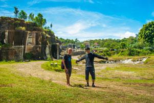 Thumbnail artikel blog berjudul Nyepeda ke Tebing Breksi lewat Jalur Belakang Banyunibo