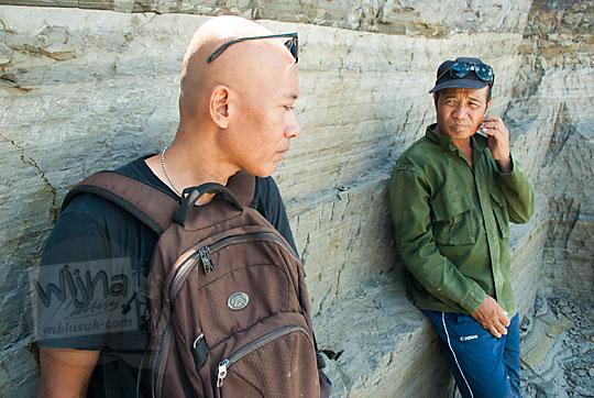 wawancara kisah hidup penambang batu tebing breksi Prambanan Sleman Yogyakarta pada April 2017
