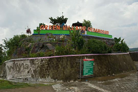 rute jalan paling cepat buat wisatawan dari jalan malioboro sosrowijayan atau stasiun tugu ke green village gedangsari gunungkidul