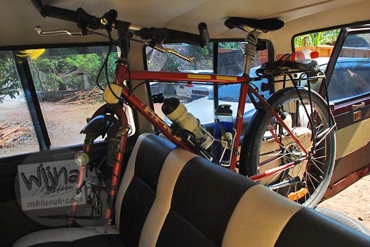 cara packing sepeda gunung mtb atau federal agar muat masuk mobil sekelas kijang innova xenia supaya muat banyak