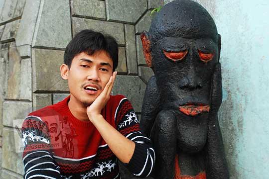 profil pria alumni prodi teknik informatika uin sunan kalijaga yogyakarta bernama sabbana azmi semasa muda pada tahun 2014