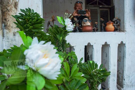 sudut-sudut menarik di bangunan tua rumah pocong di banguntapan kotagede yogyakarta yang sering boleh digunakan untuk foto selfie swafoto atau prewedding