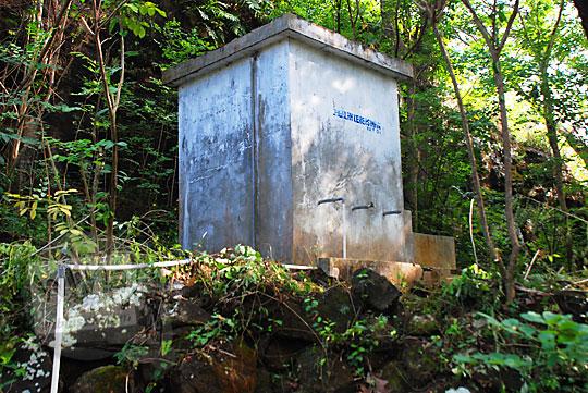 bak penampungan air digunakan untuk mandi cuci kakus warga yang tinggal di perbukitan Piyungan Bantul Yogyakarta