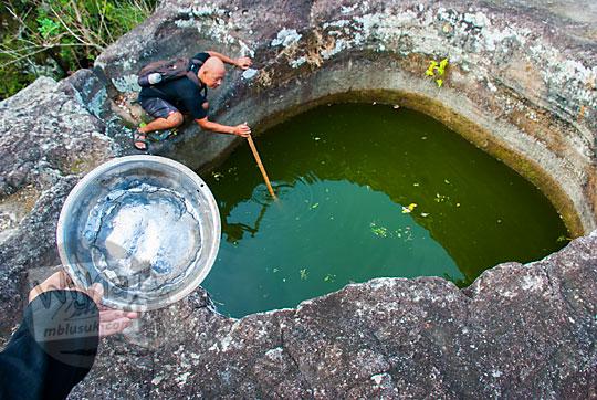 laporan proyek penelitian ilmiah mahasiswa ugm di sumur bandung desa srimulyo Piyungan Bantul Yogyakarta