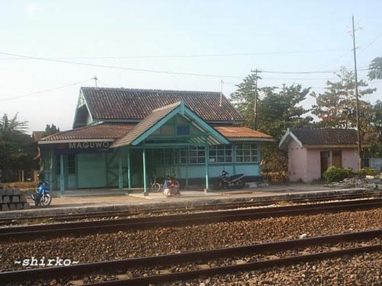 stasiun maguwo lama zaman dulu