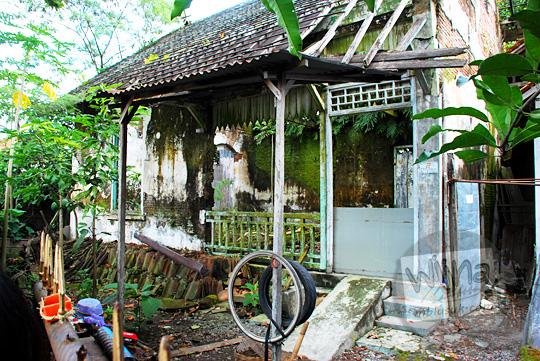 bekas rumah dinas pak narso kepala stasiun maguwo lama