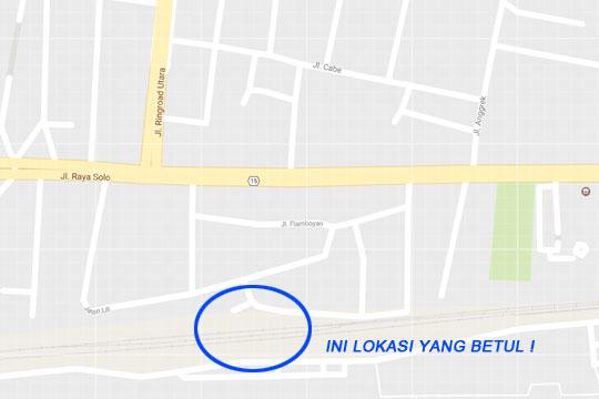 peta lokasi stasiun maguwo lama