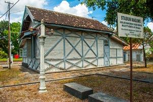 Thumbnail artikel blog berjudul Jelajah Sejarah Stasiun Maguwo Lama