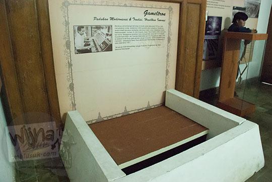 kasus penemuan gamelan elektronik yang disimpan di Museum Universitas Gadjah Mada lenyap hilang tanpa jejak
