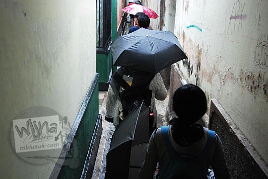 gang sempit di kampung alun alun kotagede