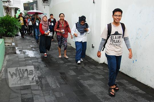 jadwal kegiatan rutin jalan-jalan komunitas jelajah pusaka kotagede heritage trail di yogyakarta