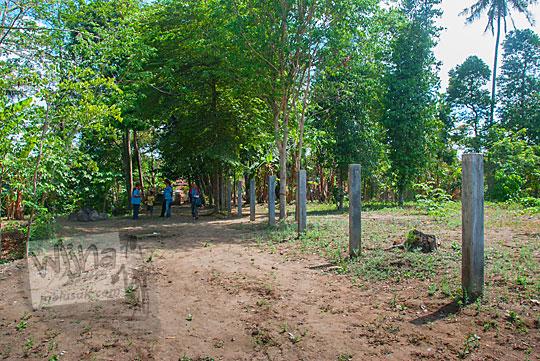 lokasi tanah kosong bekas siti hinggil keraton kerto pleret