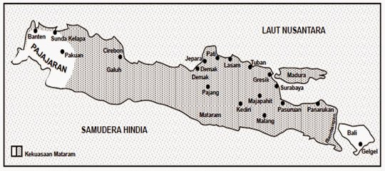 sejarah wilayah kekuasaan mataram islam pada zaman panembahan senopati, prabu hanyakrawati, dan sultan agung