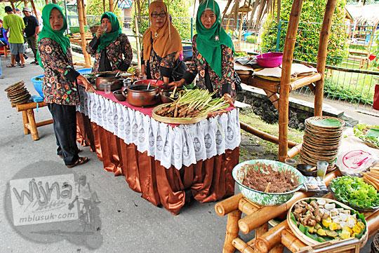 gubuk kuliner wanita desa festival candi sojiwan