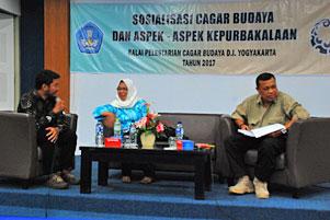 Thumbnail artikel blog berjudul Sosialisasi Cagar Budaya di UNY