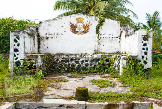 monumen kesultanan ngayogyakarta memperingati suksesi hamengkubuwono ix di desa girimulyo kulon progo