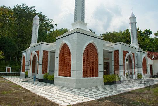 masjid al-amin sebelum renovasi di desa mertelu gedangsari gunungkidul yogyakarta pada zaman dulu mei 2017