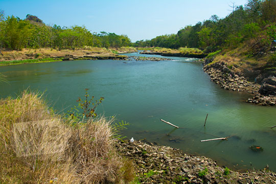 danau tempuran pertemuan dua sungai kali opak dan kali oya di pundong bantul pada zaman dulu