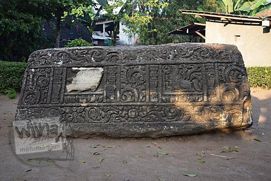 relief ikan musang watu gilang banguntapan