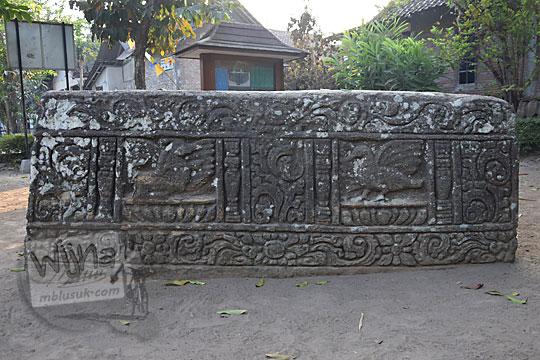 relief kuda burung watu gilang banguntapan