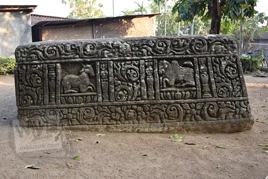 relief kambing sapi watu gilang banguntapan