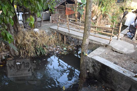 jembatan kecil situs watugilang banguntapan