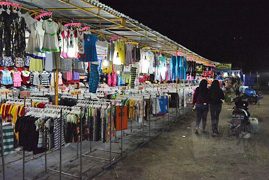 kios baju murah pasar malam imogiri