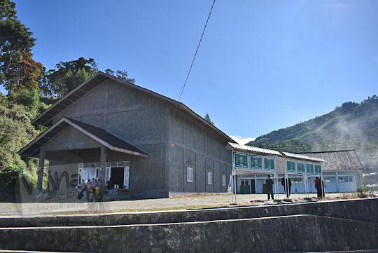 balai pertemuan nu Nahdlatul Ulama di desa sembungan kejajar wonosobo pada zaman dulu Agustus 2016