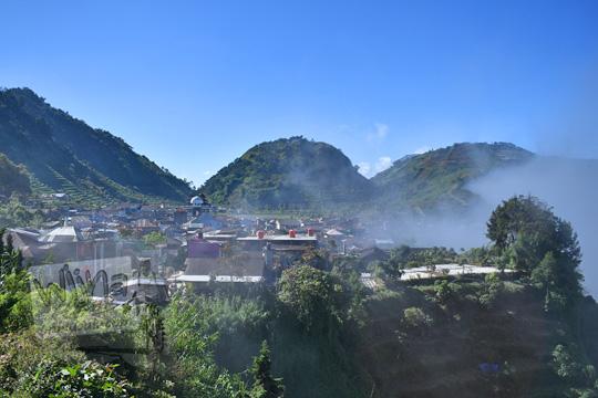 kabut melintas di desa sembungan kejajar wonosobo pada zaman dulu Agustus 2016