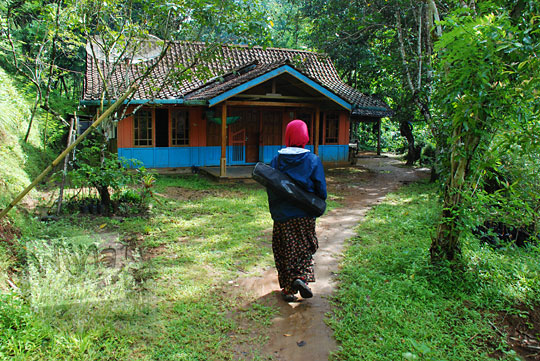 halaman depan rumah di desa kemejing loano purworejo