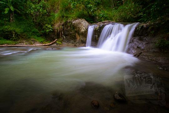 air terjun tersembunyi di desa kemejing loano purworejo jawa tengah