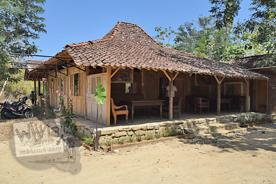 bangunan joglo warung bogowonto pangenrejo pada zaman dulu Agustus 2018