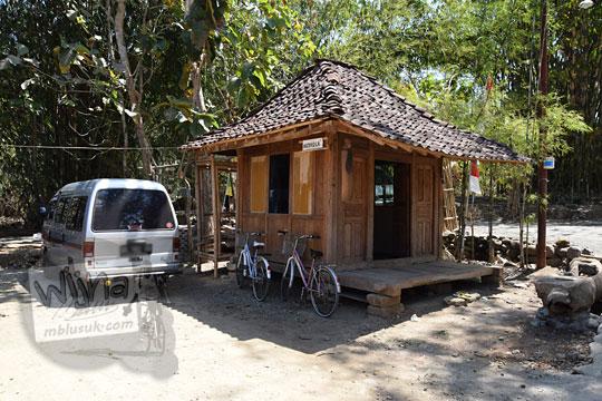bangunan musala warung bogowonto pangenrejo pada zaman dulu Agustus 2018