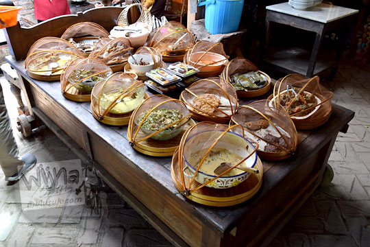ragam menu masakan desa di warung bogowonto pangenrejo pada zaman dulu Agustus 2018