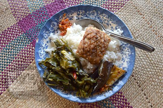 jenis masakan desa di warung bogowonto pangenrejo