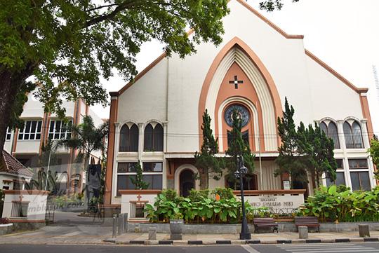 sejarah gereja katolik santo paulus miki salatiga