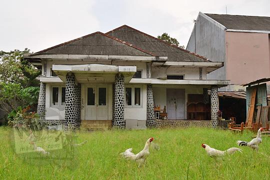 sejarah rumah tua dekat alun-alun salatiga
