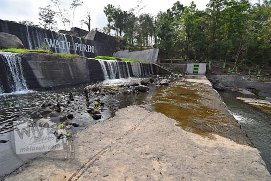 pemandangan indah dam sabo kali krasak di bangunrejo tempel
