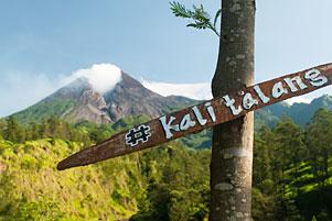 Keindahan Hakiki (Silit) Merapi dari Kali Talang Balerante