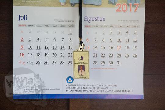 kalender petugas jaga satpam candi sari cepogo boyolali pada zaman dulu Agustus 2017