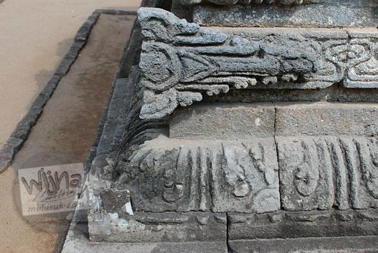 relief sulur suluran candi perwara tegowangi kediri