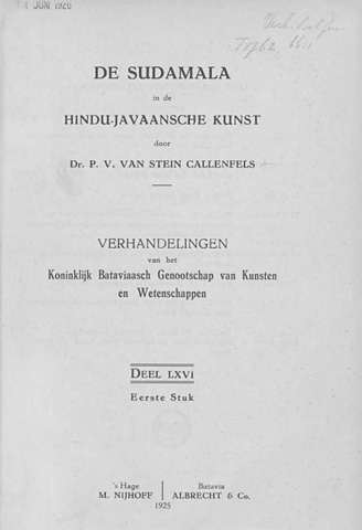 free download rare old ebook pdf de sudamala in de hindu javaansche kunst