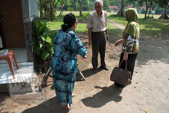 cerita bu nasokah juru pelihara candi tegowangi di Kediri Jawa Timur pada zaman dulu September 2016