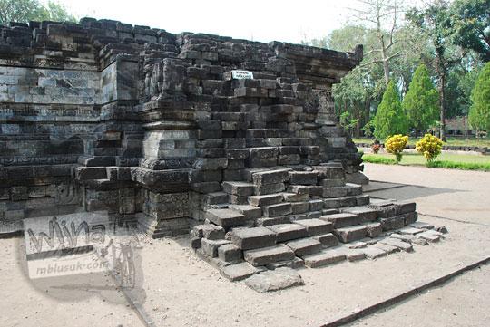 tangga naik candi tegowangi di Kediri Jawa Timur pada zaman dulu September 2016