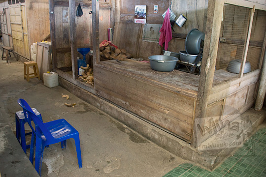 los kelapa parut tutup sepi pasar wates kulon progo pada zaman dulu Desember 2016