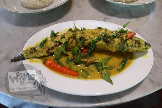 review masakan mangut iwak kutuk khas rumah makan kopi kenteng