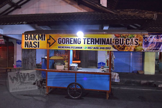 lokasi warung nasi bakmi jawa bu cas depan pintu masuk terminal wates