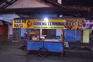 Thumbnail artikel blog berjudul Tentang Bakmi Bu Cas di Terminal Wates